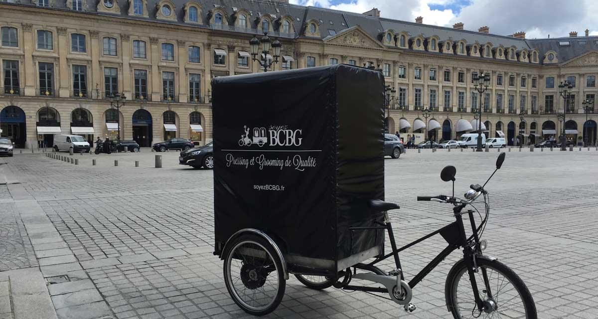 pressing paris 17eme, notre vélo partout dans paris