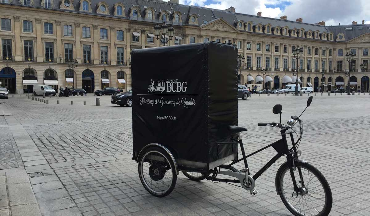 Notre velo electrique partout dans Paris