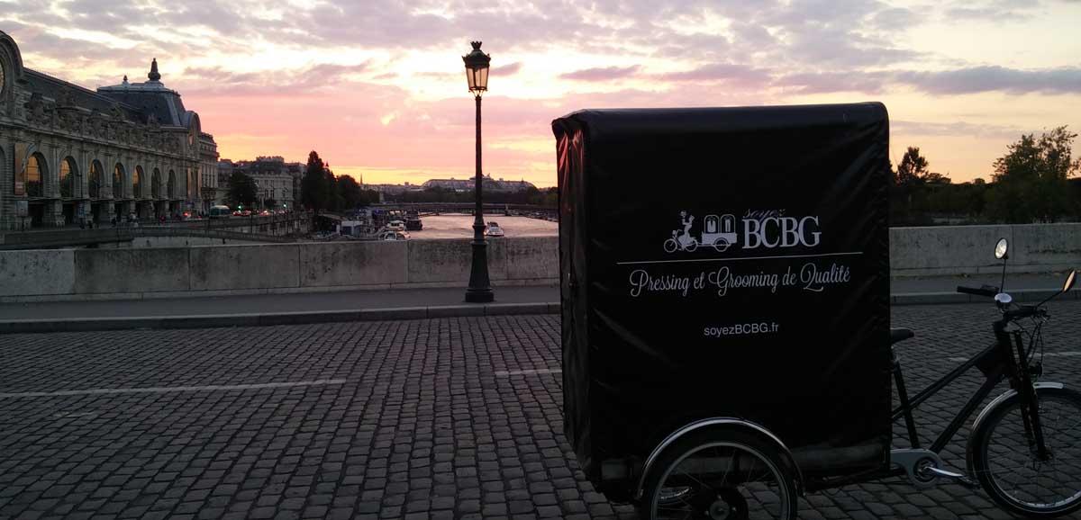 Vélo soyezBCBG dans paris 75012